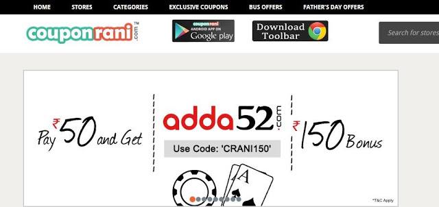 CouponRani online shopping coupons