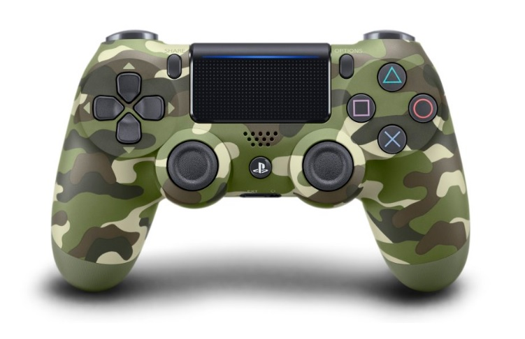 Sony Announces a New Green Camo DualShock 4 for PlayStation 4