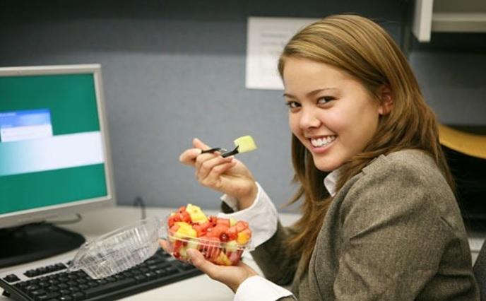Take Healthy Snack Breaks