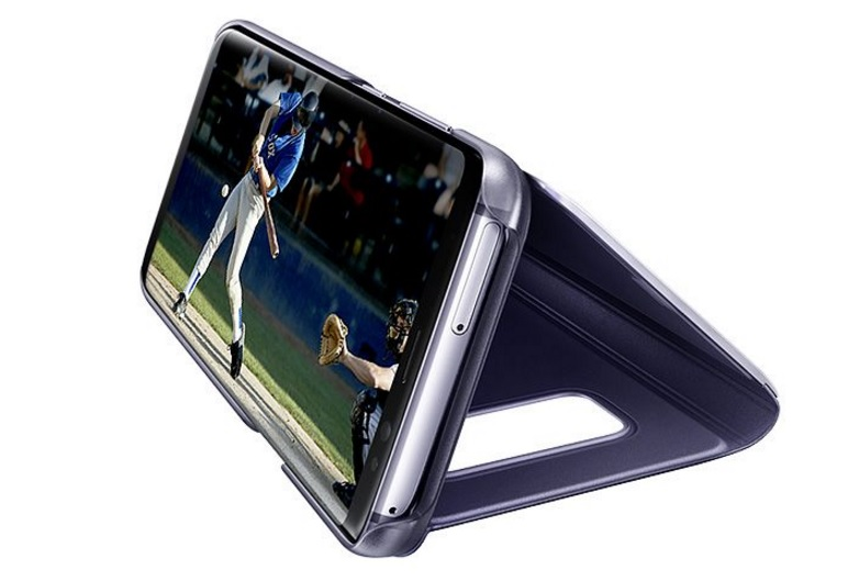 Clear View Standing Cover for Galaxy S8