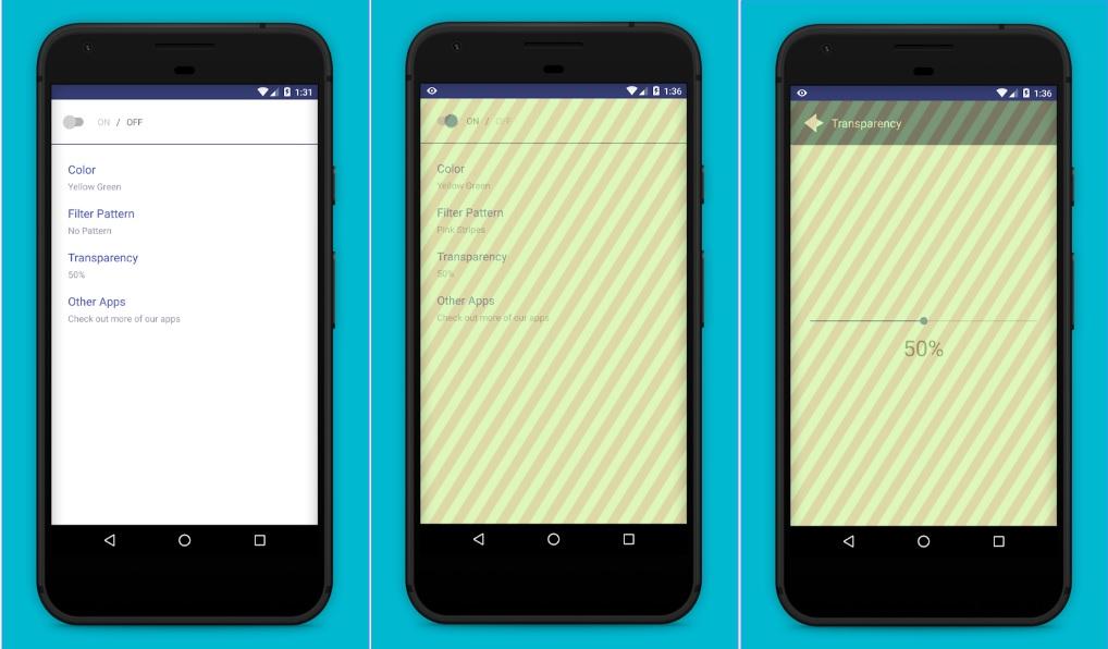 The Screen Guard – Privacy Screen app