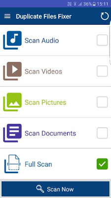 Multiple Scan Options