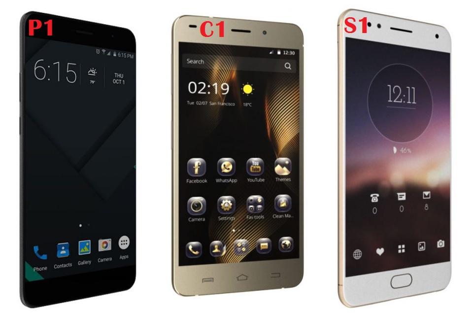 Comio C1, S1, P1 Smartphones Launched in India