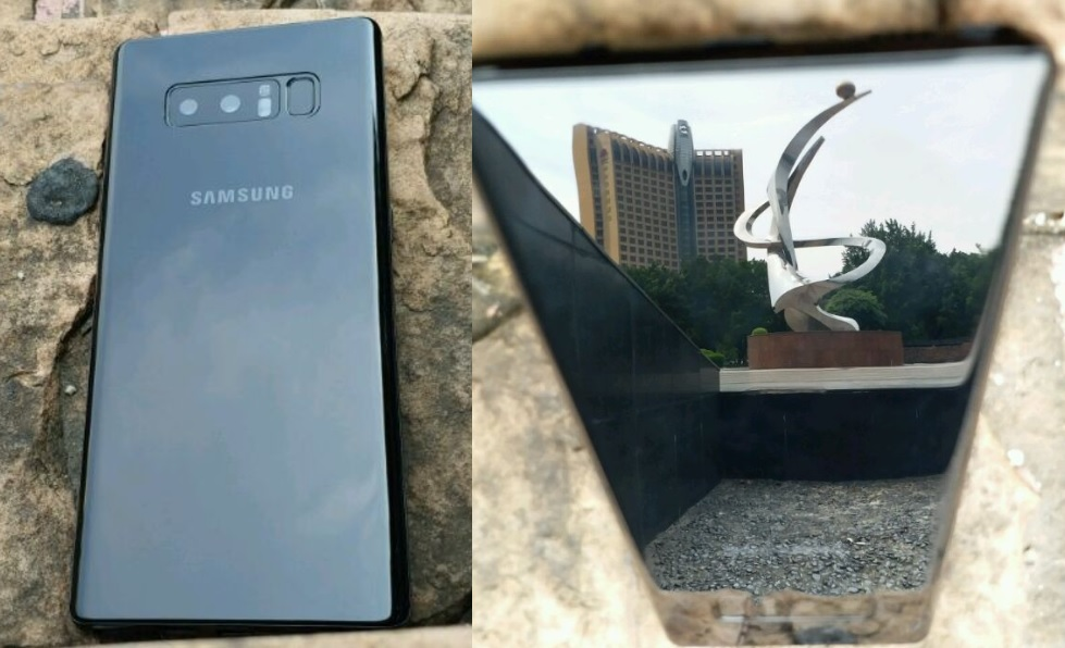 Galaxy Note 8 Appeared in New Leaked Images