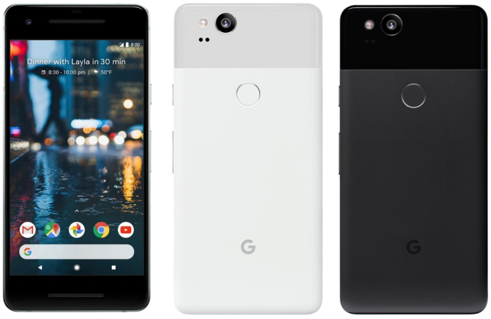 Google Launches Pixel 2 and Pixel 2 XL