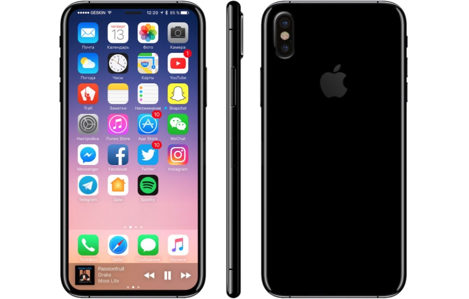 Buy SIM-Free iPhone X