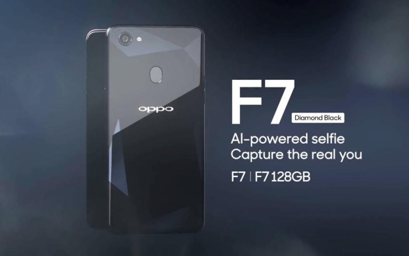 Oppo F7 Diamond Black 128GB Variant