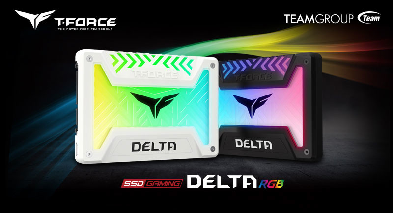 Team Group Announces T-Force Gaming Delta RGB SSD