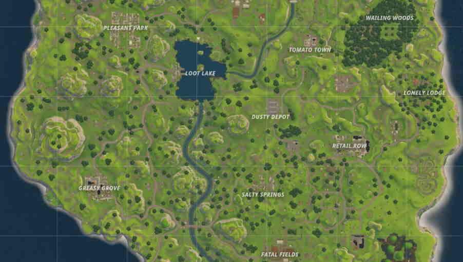 Fortnite location