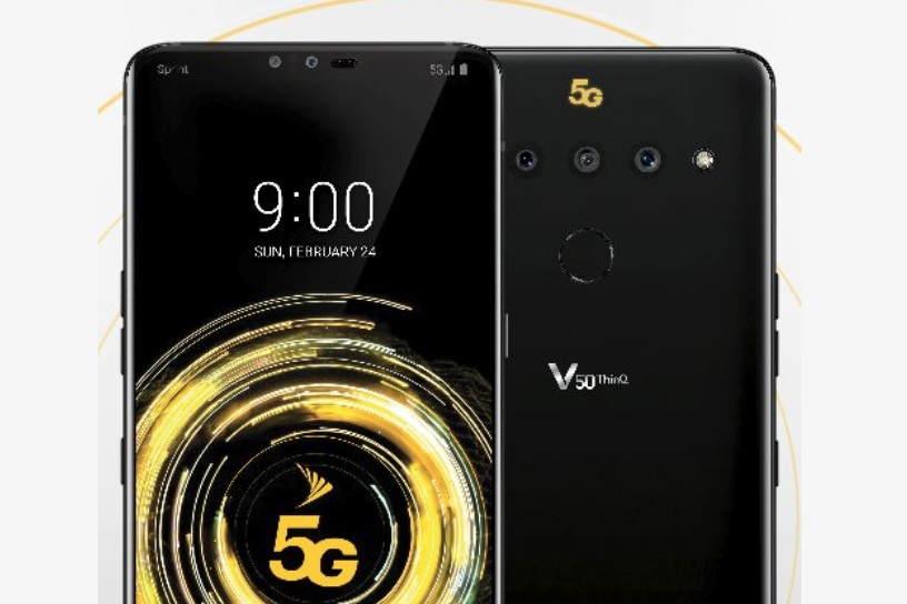 LG V50 ThinQ Sprint 5G Variant