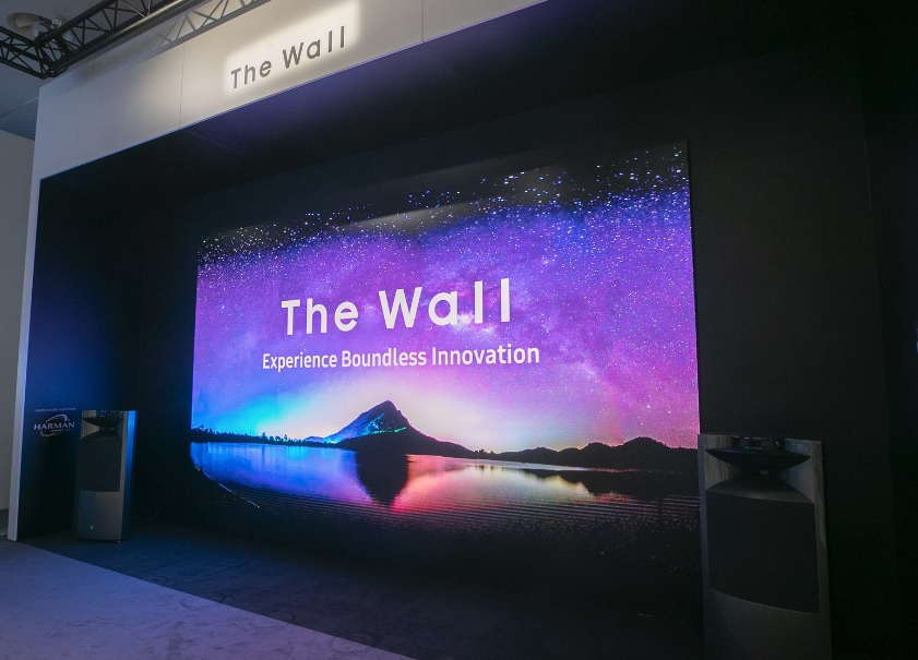 Samsung 292″ The Wall in 8K