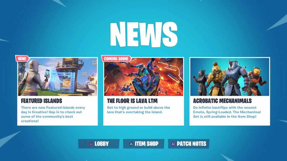 Epic Games News