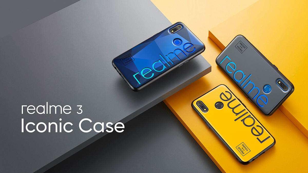 Realme 3 iconic case