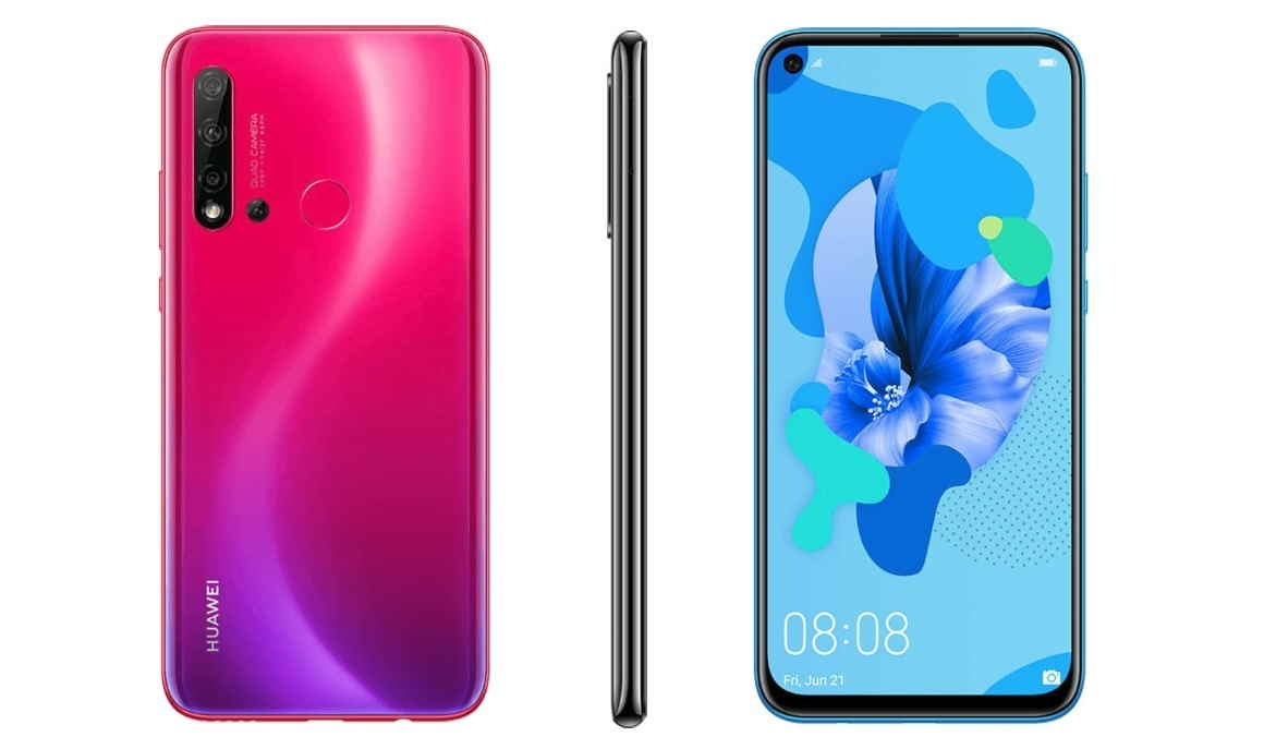 Huawei P20 Lite 20 New Renders Reveal All Colors with Punch Hole ...