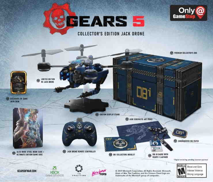 Gears 5 Ultimate Collector's Edition