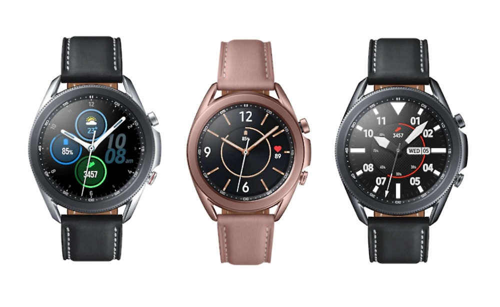 Here's the first real-life image of Samsung's upcoming ...  |Galaxy Watch 3