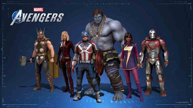 Marvel's Avengers costume Intel collab