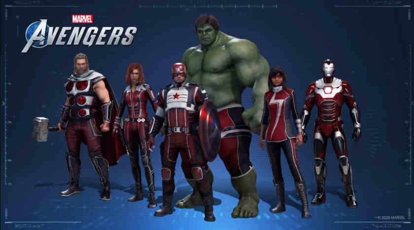 Marvel's Avengers costume Verizon or virgin media collab