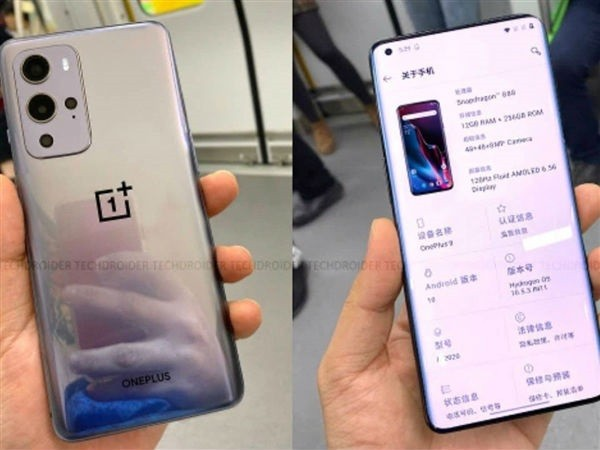 OnePlus 9 Live Images