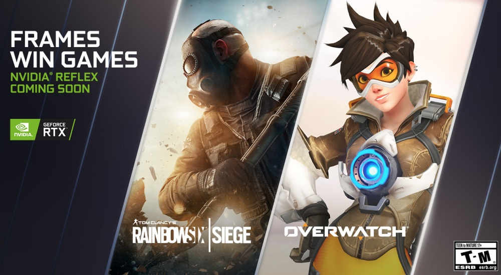 Rainbow Six Siege and Overwatch