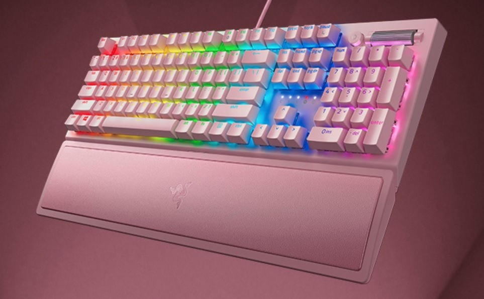 Razer BlackWidow V3 Quartz Pink