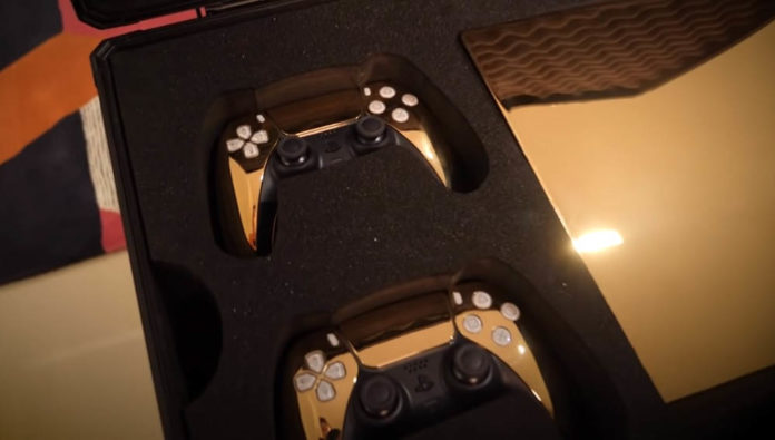 Gold-Plated PlayStation 5