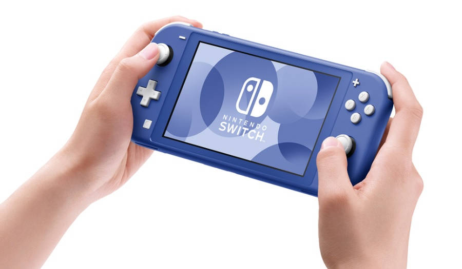 Blue Nintendo Switch Lite