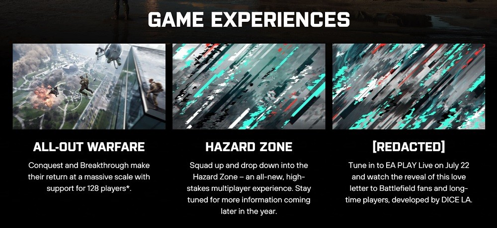 Battlefield 2042 Modes
