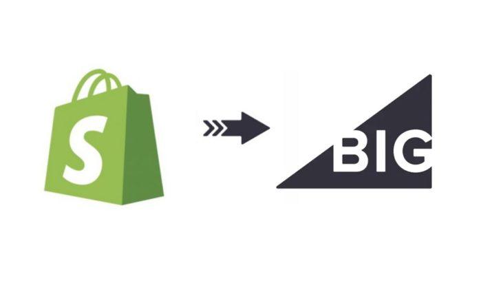 Shopify to BigCommerce